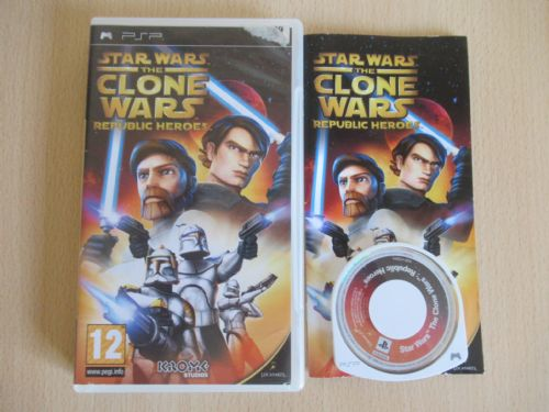 Star Wars The Clone Wars Republic Heroes (PSP)